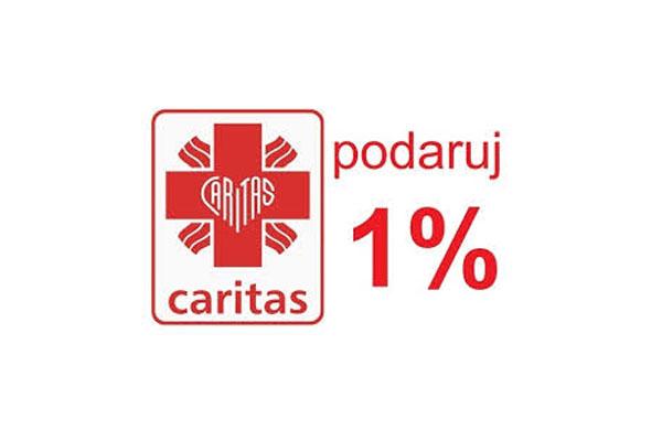 Prosimy o przekazanie Caritas naszej parafii – 1% podatku dla najbardziej potrzebujących